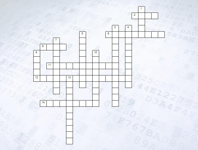 Кроссворд Компьютер как универсальное устройство для работы с информацией