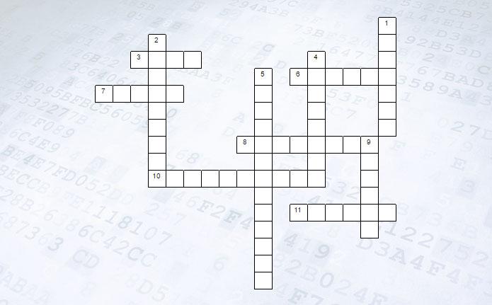 Кроссворд Обработка числовой информации в электронных таблицах