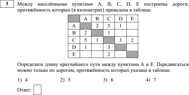 Решение 3 задания ОГЭ-2016