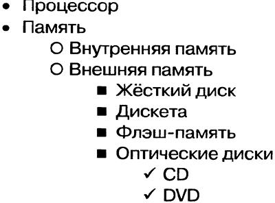 Создание списков 2